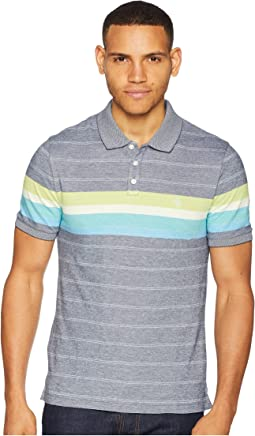 Short Sleeve Engineered Stripe