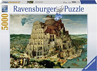 Ravensburger The Tower of Babel - 5000 Piece Jigsaw Puzzle for Adults – Softclick Technology Means Pieces Fit Together Perfectly