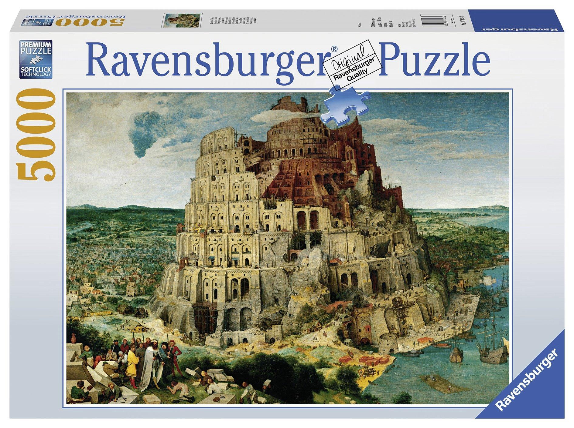 Ravensburger - Bruegel, La Torre de Babel, Puzzle 5000 Piezas (17423 2): Amazon.es: Juguetes y juegos