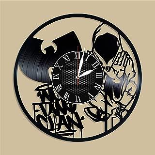 Olha Art Design Wu Tang vinyl clock, Wu Tang home decor, Wu Tang wall art, Wu Tang wall poster, Wu Tang music, Wu Tang sons, Wu Tang fan gift, Wu Tang decal