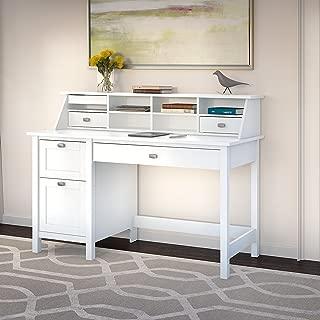 Bush Furniture BD005WH Computer Desk, Pure White