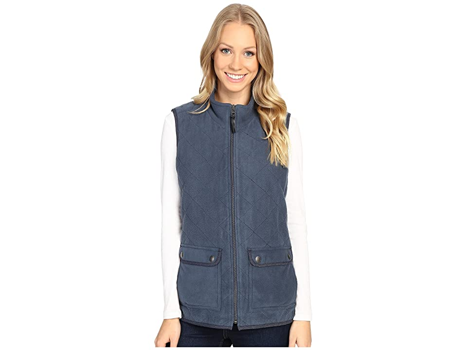 Royal Robbins Foxtail Fleece Vest (Navy) Women