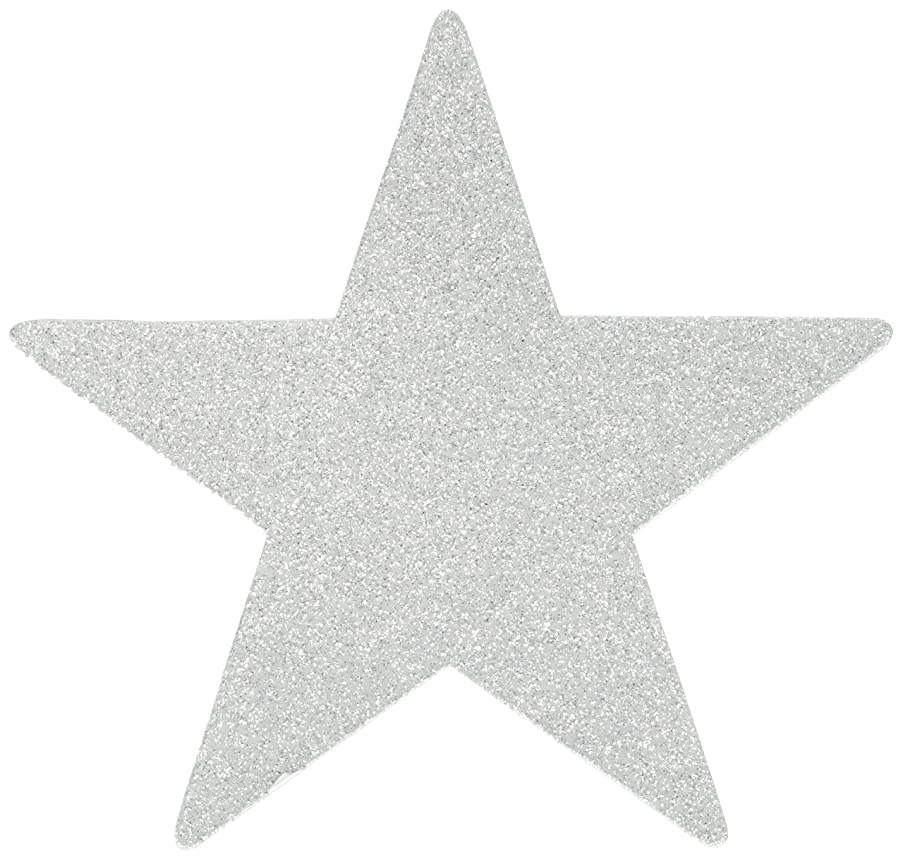 Star Cutouts | Silver | Pack of 5 | Party Decor