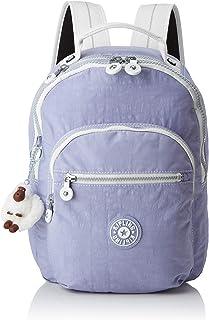 Kipling CLAS Seoul S School Backpack, 34 cm, 10 liters, Purple (Active Lilac Bl)