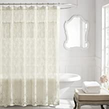 Lamont Home Everly Shower Curtain, Ivory