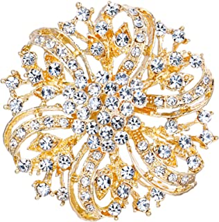Best bridal flower brooch Reviews