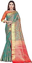 TFO women's & Girls Silk Blend Jauqard Banarasi saree with Blouse Piece