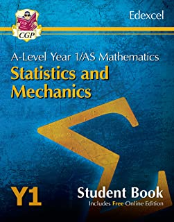 New A-Level Maths for Edexcel: Statistics & Mechanics - Year 1/AS Student Book (with Online Edn)
