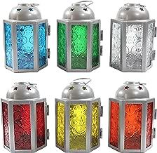 Vela Lanterns 6pc Assorted Mini Moroccan Tealight Candle Lantern