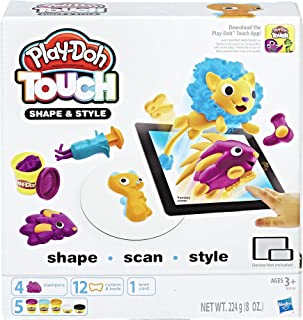 Play-Doh Touch Shape and Style Set