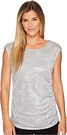 Calvin Klein - Sleeveless Metallic Snake Top