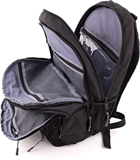 Mom & Dad Diaper Bag Backpack: Women & Man Travel Backpack for Parents of 2 or More Children with Bottle Sleeves, Stroller Straps, Multiple Pockets for Diapers, Baby Stuff, Wipes and Kids Essentials