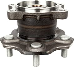 ECCPP Wheel Hub Bearing Assembly New Premium Bearing and Hub Assembly Rear 5 Lugs for Nissan 2002-2009 Compatible with 512202