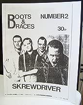Boots and Braces Issue No. 2 Skrewdriver Skinzine Skinhead Magazine