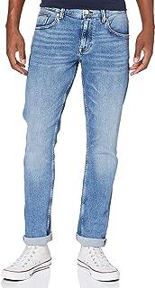 Tommy Hilfiger Homme Straight Denton Str Atoka Blue Pantalon, Bleu (Atoka Blue), W30/L34