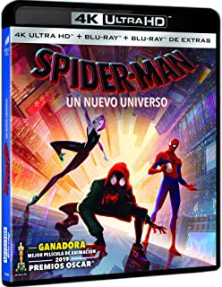 Spider-Man: Un Nuevo Universo (4K UHD + BD + BD Extras) [Blu-ray]