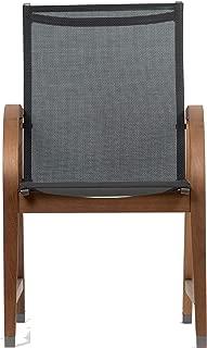 Amazonia SC_4MANHA (4 Pieces) Armchair, Dark Wood