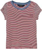 Polo Ralph Lauren Kids Polo Striped Jersey Tee (Toddler)