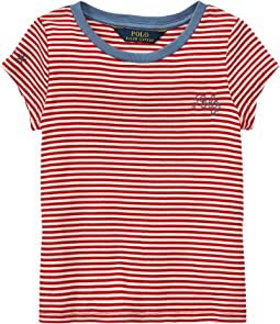 Polo Ralph Lauren Kids - Polo Striped Jersey Tee (Toddler)