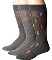 HUE - Beer Socks with Half Cushion 3-Pack