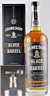 Jameson Black Barrel irischer Whiskey  1 Glaskugelportionierer