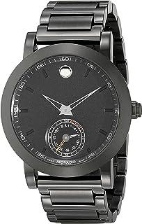 Movado Men's 0660002 Black Stainless Steel Smart Watch