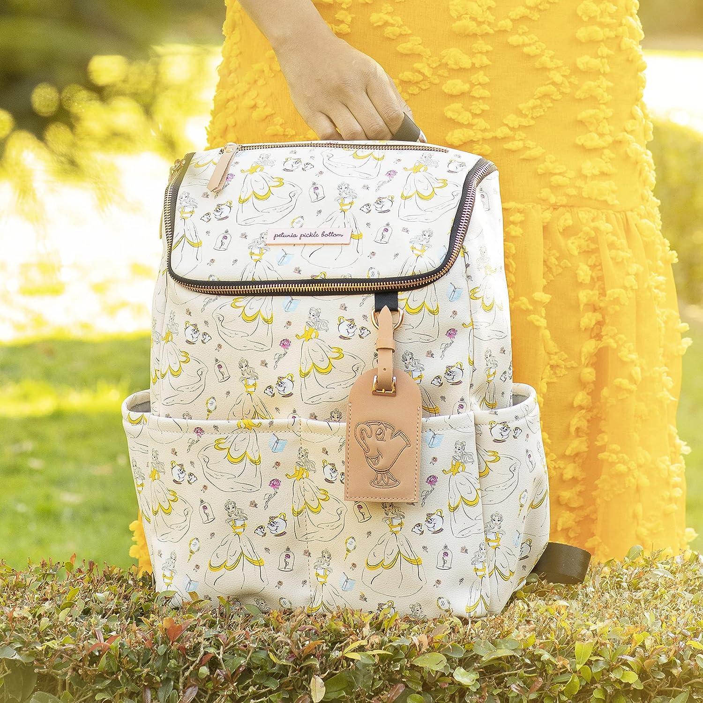 Petunia Pickle Bottom - Method Backpack - Disney - Disney's Beauty and The Beast - Whimsical Belle