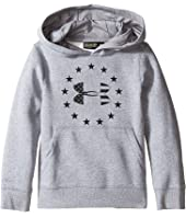 Under Armour Kids - Freedom Logo Rival Hoodie (Big Kids)