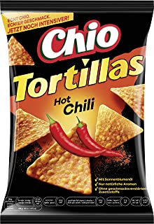 Chio Tortilla Chips Hot Chili, 125 g