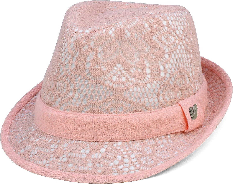 MG Infinity Selections Women's Fedora Hat-8951