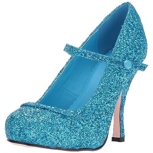 Ellie Shoes Women s 423-Candy Glitter Maryjane Platform Pump ce3d89925c