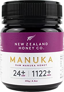 New Zealand Honey Co. Raw Manuka Honey UMF 24+ / MGO 1122+ | 250g