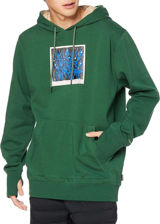 Volcom unisex Men's DI SEAL limited product Pullover Hooded Snow Sweatshirt Fleece Baselayer