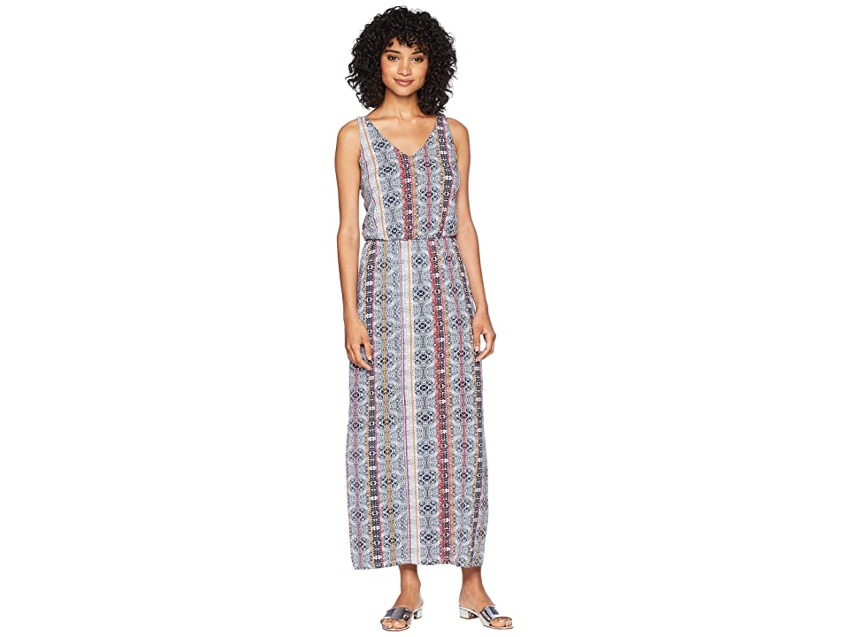 Tart Cassandra Maxi Dress (Indigo Geo) Women