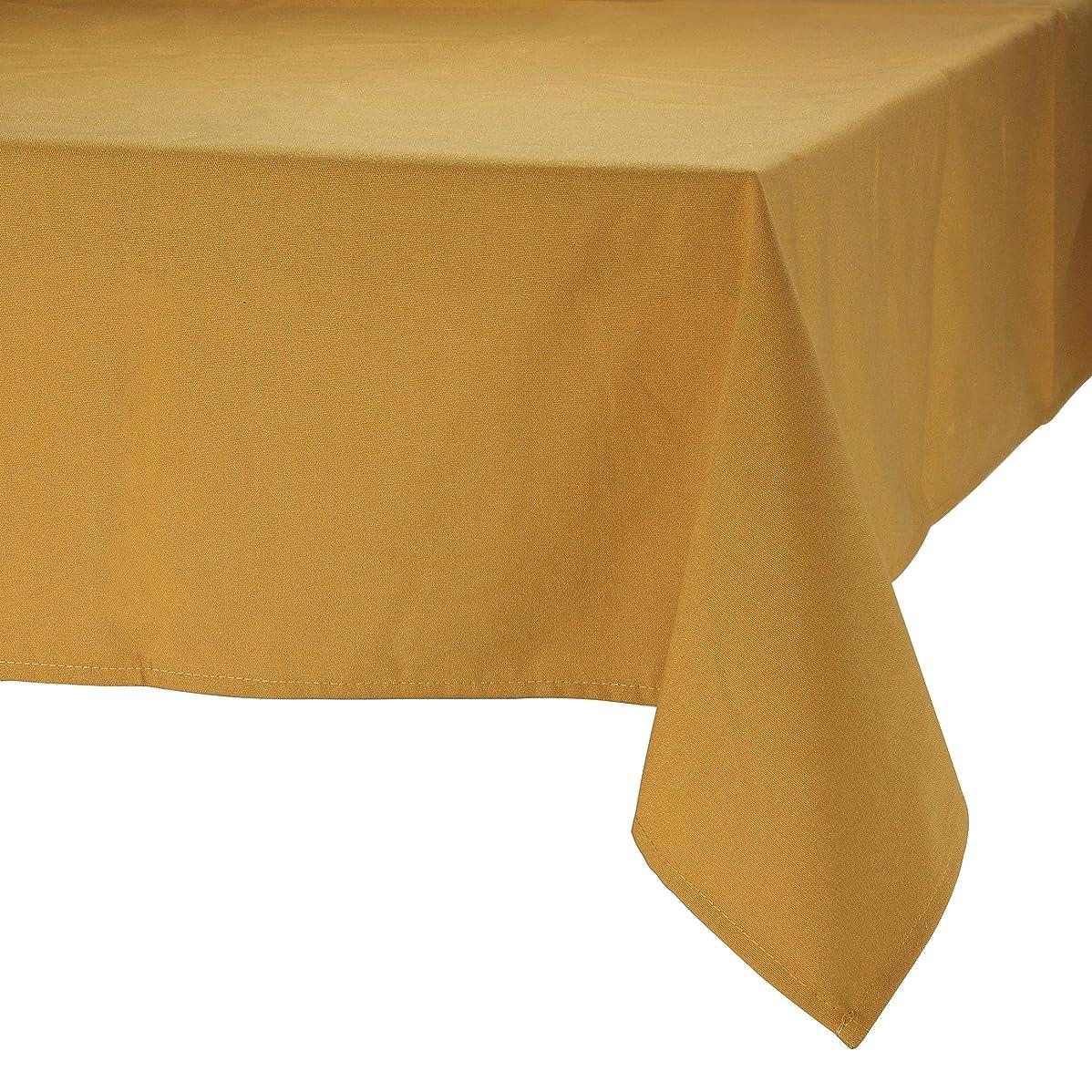 ええ州ワームMAJEST(マジェスト) テーブルクロス 正方形260cmx260cm 布地 ブロンズ 無地 繋なし 吸水タイプ