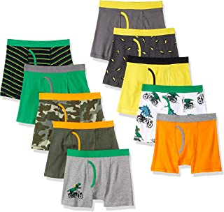 Marca Amazon - Spotted Zebra 10-Pack Boxer Brief Underwear Hombre