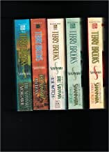 5 Titles by Terry Brooks! High Druid of Shannara Series: Jarka Ruus AND Tanequil; Voyage of the Jerl Shannara: Ilse Witch ...