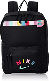 Nike Unisex-Child Backpack, Black/Flamingo - NKCQ7655-010