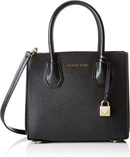 Mercer Medium Messenger, Women's Cross-Body Bag, Black, 11x19x22 centimeters (B x H x T)
