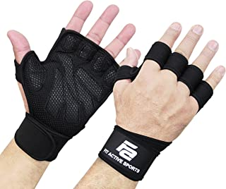 girl workout gloves