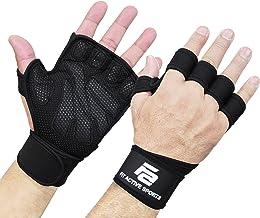Nieuwe geventileerde gewichtheffen handschoenen met ingebouwde polswraps, volledige palmbescherming en extra grip. Geweldi...