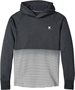 Hurley Kids - Dri-Fit Ombre Stripe Pullover (Big Kids)