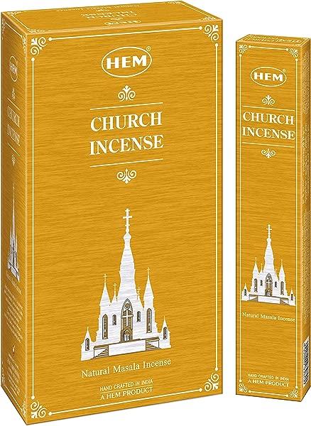 下摆熏香新推出独家香型天主教堂熏香玛莎拉 Agarbatti Sticks 一套 12 盒每盒 15 克