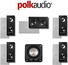 Polk Audio 265LS 5.1 Vanishing Series in-Wall Home Theater System (265-LS + 255C-LS + HTS12)