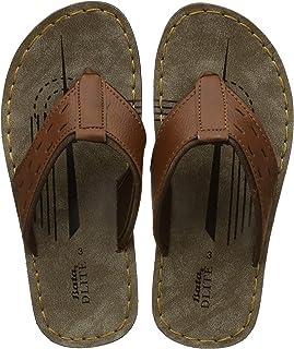 BATA Boy's Wave Jr Tan Flip-Flops - 2 Kids UK/India (19 EU)(4713159)