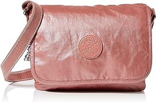 Kipling Nitany, Bolso con Bandolera para Mujer, Gris, 24.5x18x6 cm