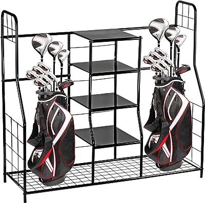 Home-It Golf Bag Sports Dual Golf Storage Organizer