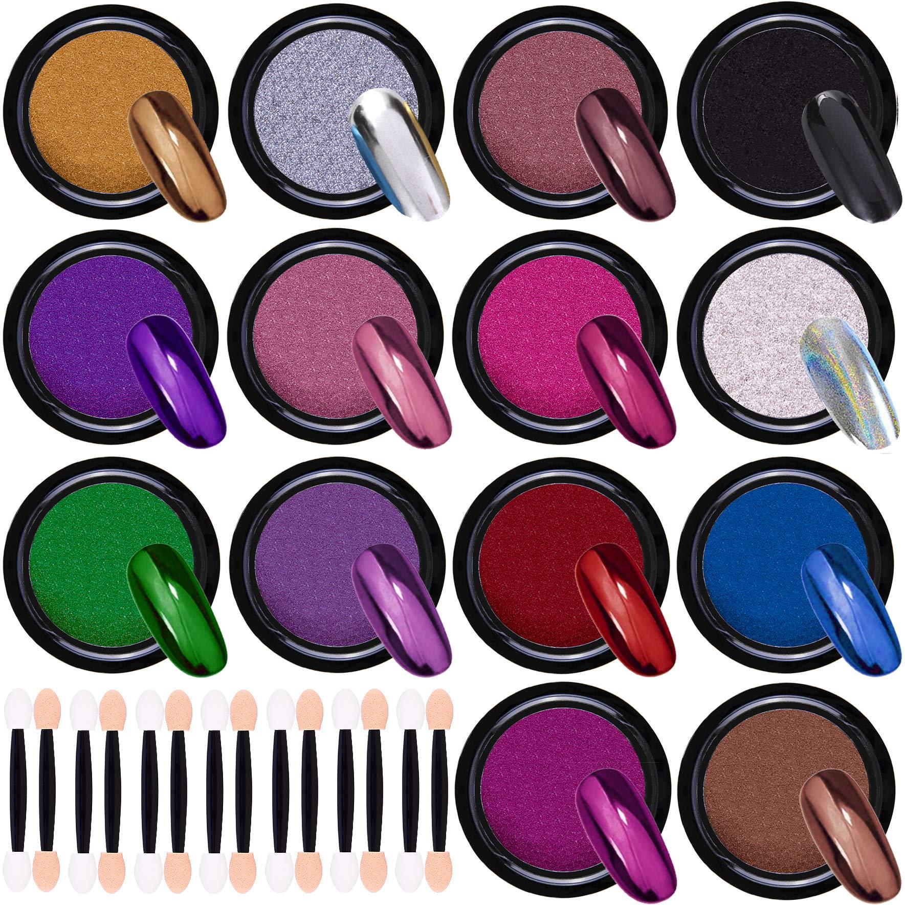 Duufin Metallic Manicure Pigment Eyeshadow