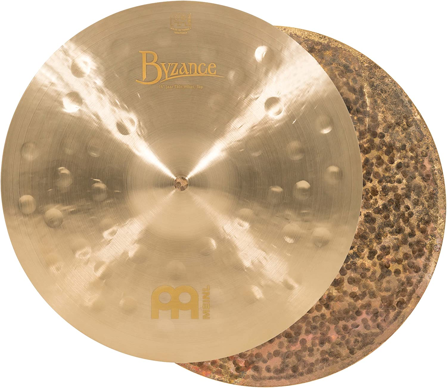 Meinl Cymbals B14JTH Byzance 14-Inch Cymbal Our shop OFFers the best service Max 86% OFF Thin Pai Hi-Hat Jazz