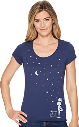 Celestial Yoga Smooth Scoop Tee